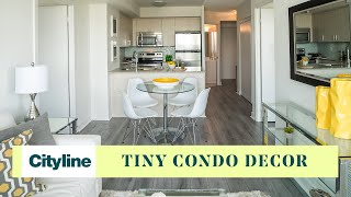 Pro Furnishing And Decorating Tips For A Tiny (464 Ft.) Condo