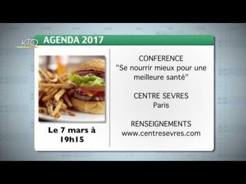 Agenda du 3 mars 2017