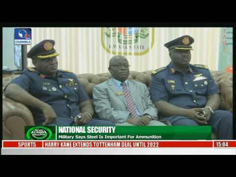 News Across Nigeria: Air Force showcases Technology By Its Trainees