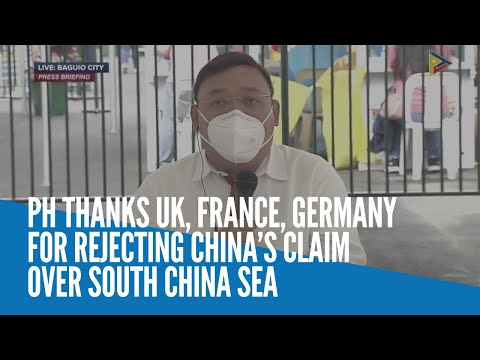 [Inquirer]  PH thanks UK, France, Germany for rejecting China's claim over South China Sea