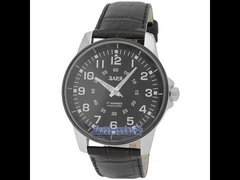Видео обзор механических часов Заря G5164401