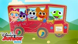 The Wheels on the Bus 🚌 | 🎼 Disney Junior Music Nursery Rhymes | Disney Junior