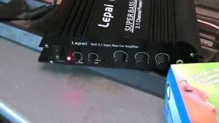 Lepai 2.1 168 HA power amp modification
