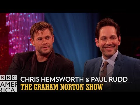Kit Harrington a Chris Hemsworth o udržování tajemství - The Graham Norton Show