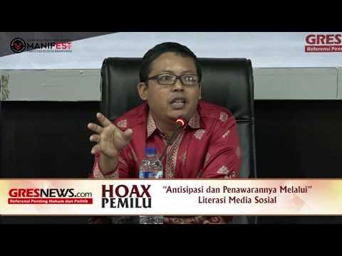 VIDEO: Semakin Kritis Masyarakat, Hoaks akan Hilang