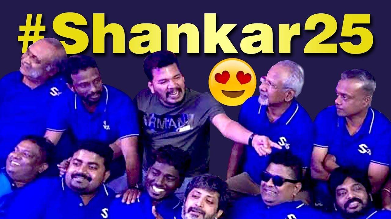 Wow: #Shankar25 இணைந்த இயக்குநர்கள்   Manirathnam ,Lingusamy ,Gvm , Myskin, Pa Ranjith, Atlee,