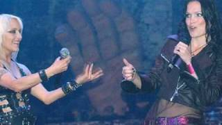 Doro Pesch and Tarja Turunen-Walking with the Angels