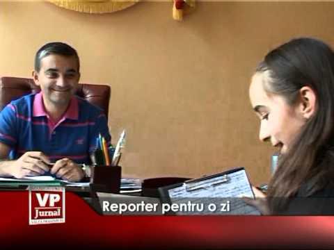 Reporteri pentru o zi