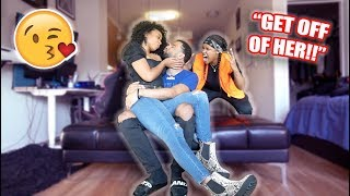 CAUGHT KISSING YOUR BEST FRIEND PRANK ON EZEE FROM EZEE x NATALIE!! *GONE TERRIBLE*