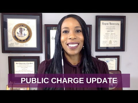 PUBLIC CHARGE UPDATE, Immigration & Welfare Benefits, New Rules [October 2018]