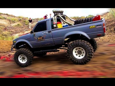 RC ADVENTURES - TTC 2012 - Eps 2 - Obstacle Course - Scale 4x4 Truck Challenge