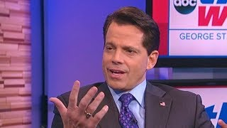 Anthony Scaramucci interview. August 13, 2017. Scaramucci on Trump and Charlottesville.