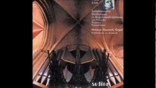 Liszt - Orpheus (Organ)