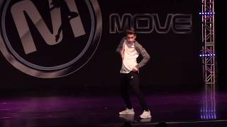 Isaac Kragten Hip Hop Solo 2017 - Move Dance Competition