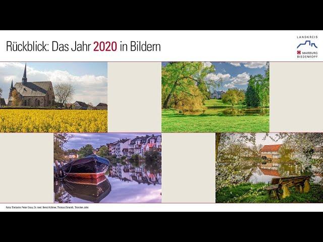 Jahresrüblick 2020 des Landkreises Marburg-Biedenkopf