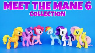 MY LITTLE PONY MEET THE MANE 6 COLLECTION REVIEW