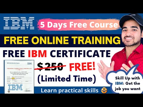 IBM Offers Free Course With Certificate   SkillUp With IBM   Students ...