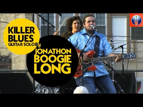 Boogie Blues Solo + Guitar Lesson with Jonathon `Boogie´ Long - Rock Blues Guitar Licks