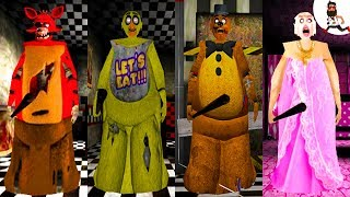 All the Mods of Granny ► by Abegi Jo ► FOXY (FNAF) ►  The evolution №14