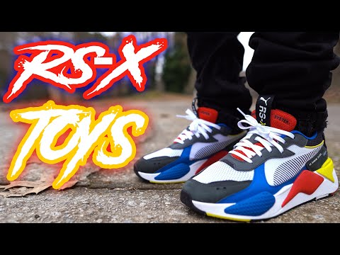 "PUMA RS-X ""TOYS"" REVIEW AND ON FOOT !!!"