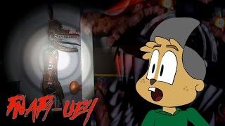 FOXY IS HIDING BEHIND THE DOOR!! || FNAF UE4 [Five Nights at Freddys FREE ROAM]