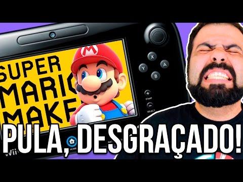 CONTROLE FALHANDO EM FASES IMPOSSÍVEIS: ÓBVIO QUE TEM RAGE –  Super Mario Maker (SUPER EXPERT