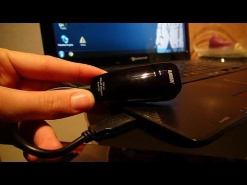 Anker USB 3.0 auf Lan/RJ45 Netzwerkanschluss Adapter