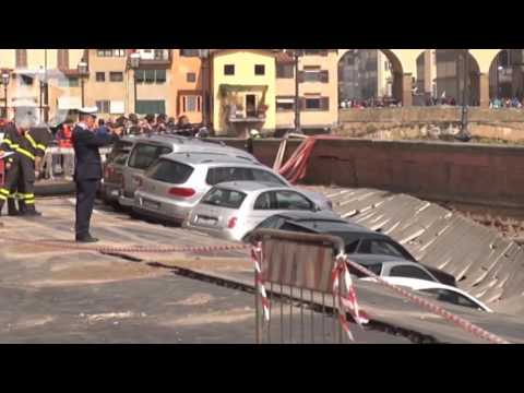 VIDEO - VORAGINE LUNGARNO TORRIGIANI FIRENZE