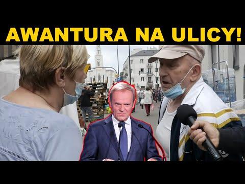 Tusk wrócił! AWANTURA na ulicy. Polacy NIE WYTRZYMALI