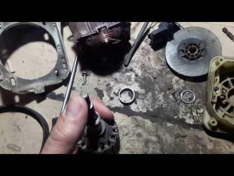 Газонокосилка электрическая  AL-KO - клин двигателя