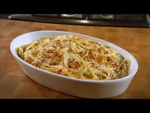 Marco Pierre White recipe for Spaghetti Carbonara