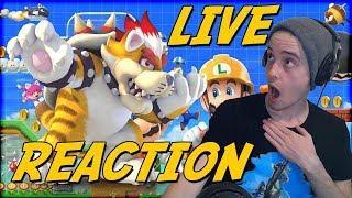 CO-OP MARIO MAKER 2!? - 5/15/2019 Direct Live Reaction!