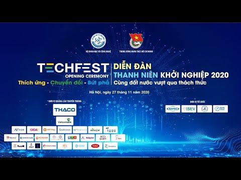 """TechFest Việt Nam 2020 Chủ đề: """"Thích ứng - Chuyển đổi - Bứt phá"""""""