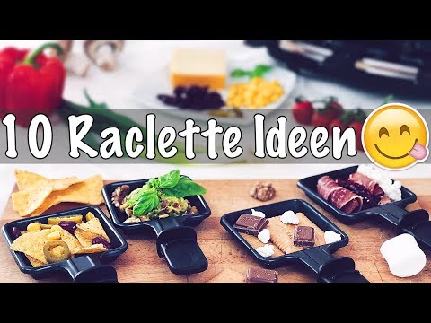 10 besondere RACLETTE Pfännchen Ideen/Rezepte, die du PROBIEREN musst! Deftig & Süß - TheBeauty2go