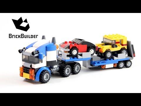 Vidéo LEGO Creator 31033 : Le transport de véhicules