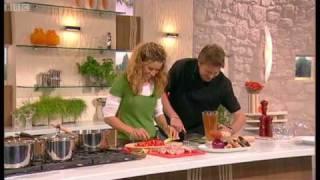 Tana Ramsey's Chicken And Butterbean Casserole Part 1 - Saturday Kitchen - BBC