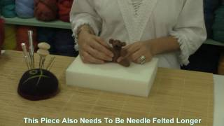 Needle Felting Firmness Tutorial