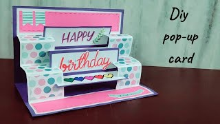 Handmade Popup Card For Birthday/how To Make Birthday Cards\diy Birthday Cards