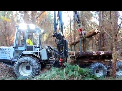 Vimek Forestry Machines - смотреть онлайн на Hah Life