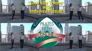 How To Look 5 Lbs. Thinner With Better Posture