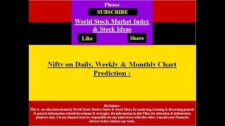 Best Nifty Prediction for 7th to 30 September 2020 Daily weekly Monthly 2020 For Study Purpose