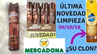 ÚLTIMA NOVEDAD LIMPIEZA MERCADONA Y SU CLON DE MARCA