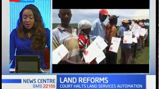 Dr. Mwenda: The coming in of the Lands Commission has reduced incidents of land grabbing