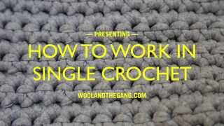 Single crochet (US)