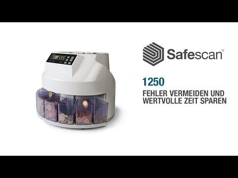 Safescan 1250 Münzzähler und Sortierer
