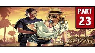 Grand Theft Auto 5 Walkthrough Part 23 - SCOPE THE PLACE | GTA 5 Walkthrough