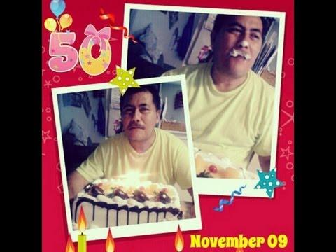 Happy Birthday Daddy ♥ | Nov 09 |