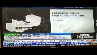 CNBC Africa phone interview with the D.I.V.A