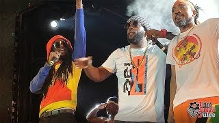 Gambar cover Machel Montano, Skinny Fabulous and Bunji Garlin - Famalay Live at OUT in South (Trinidad Carnival)