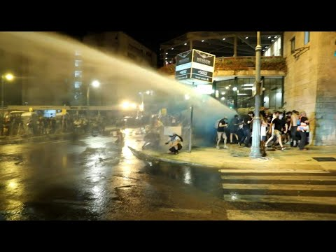 Palestinian/Israeli update 7/24/2020..Anti-government protest in Jerusalem turns violent with arrests and water cannon